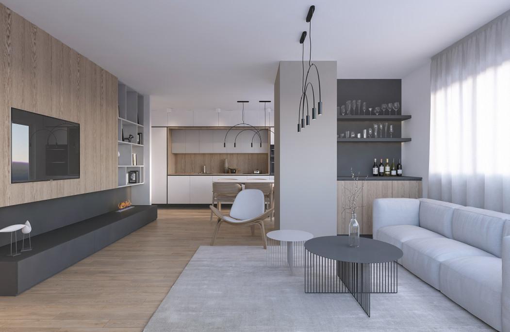 Трособен стан од 84m2 во Карпош 2.2